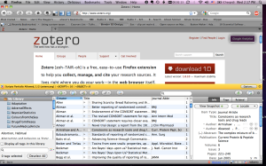 zotero is both a bibliographic reference tool and a collaborative research platform
