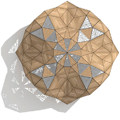 girih timber canopy icon